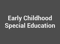 Early Childhood Special Ed