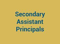 Secondary Assistant Principals