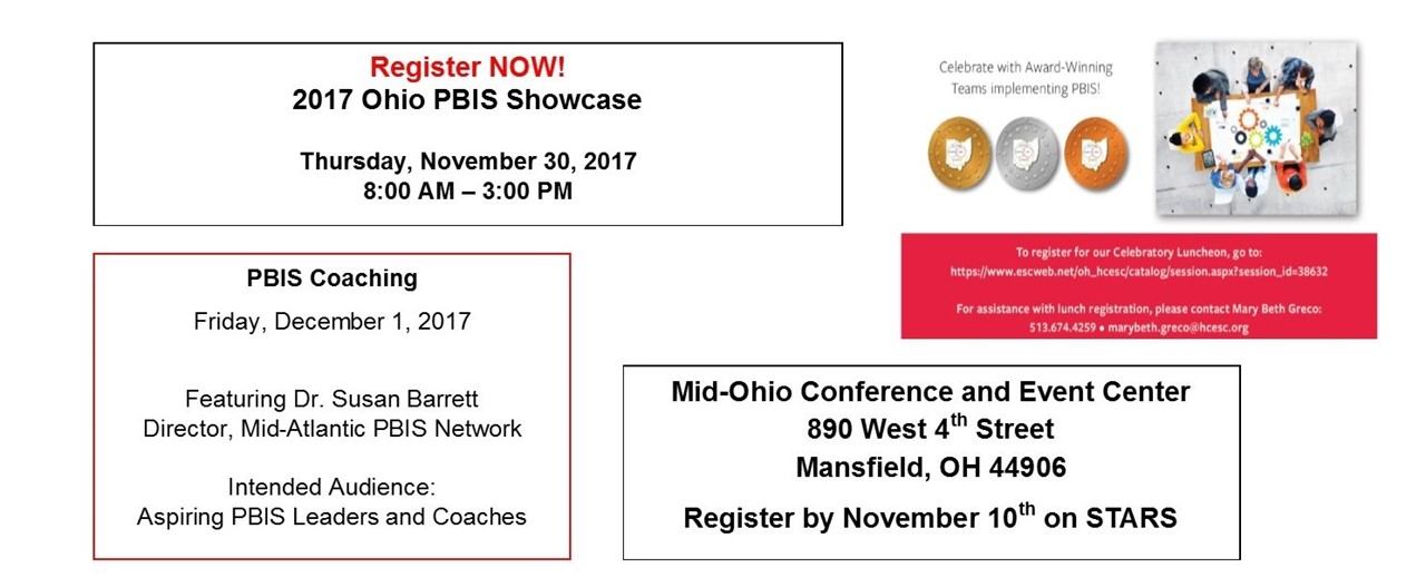 2017 Ohio PBIS Showcase