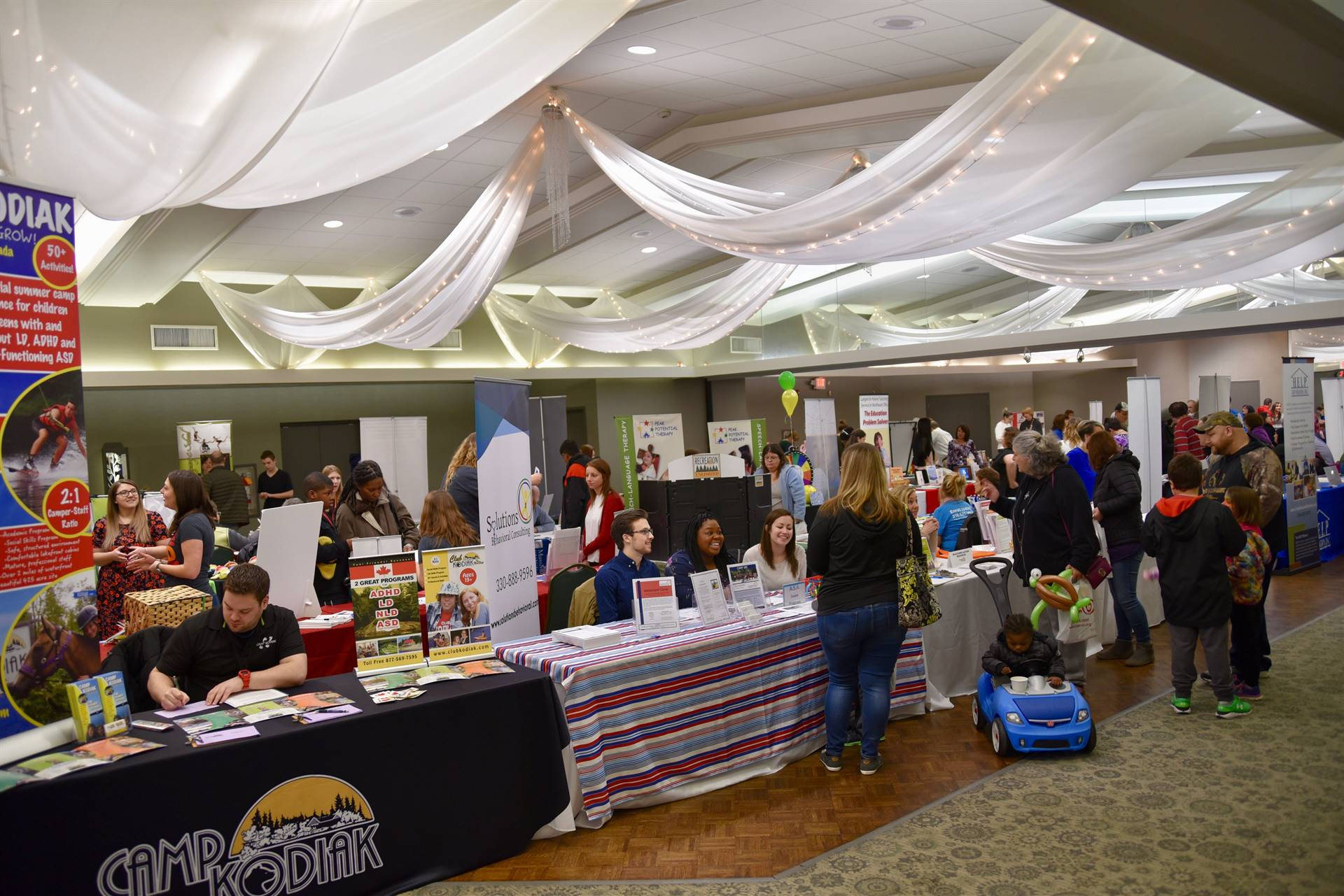 More than 250 children, families and professionals attended the 20th Annual Summer and Beyond Event