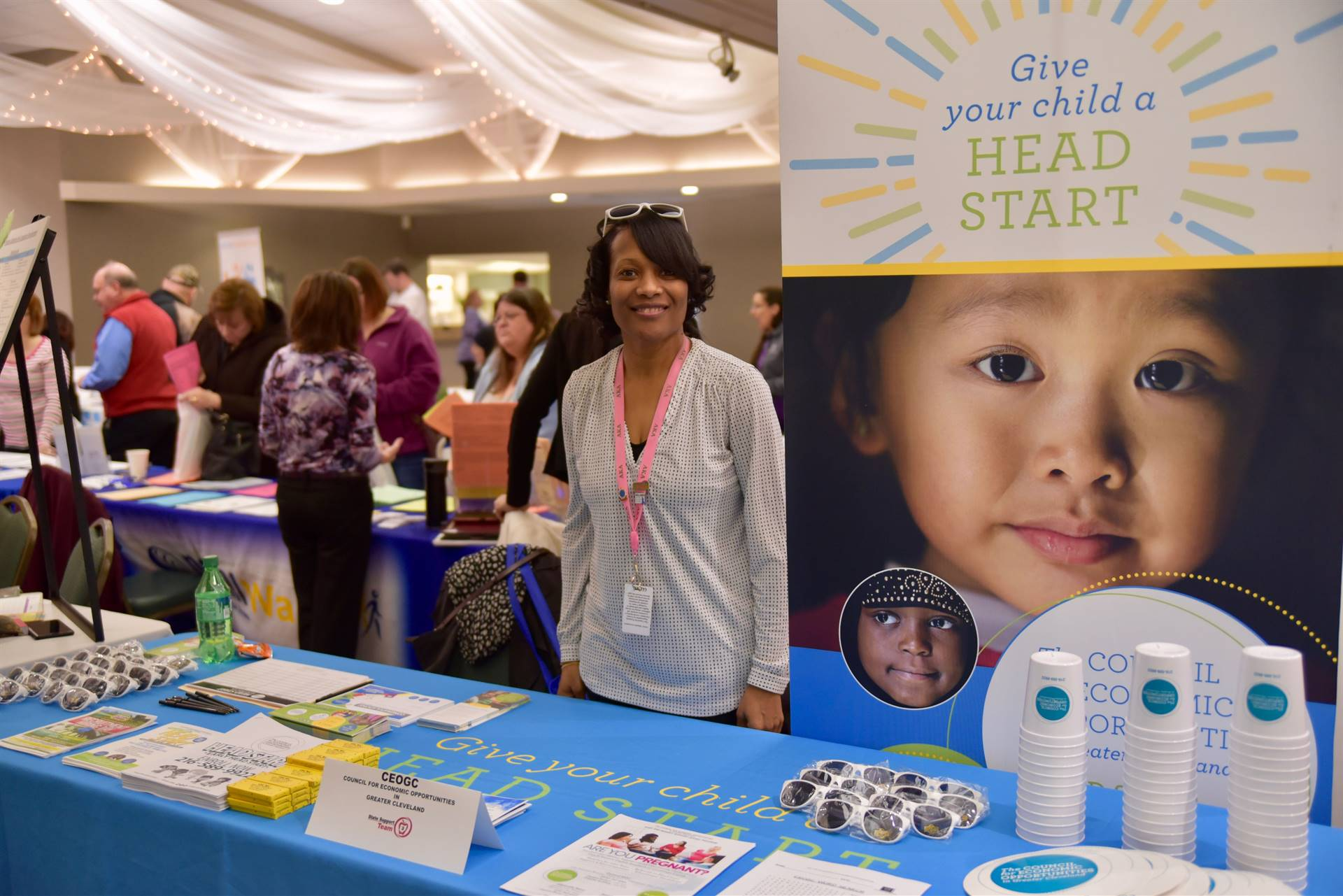 CEOCG Head Start participated in the 20th Annual Summer and Beyond Event.