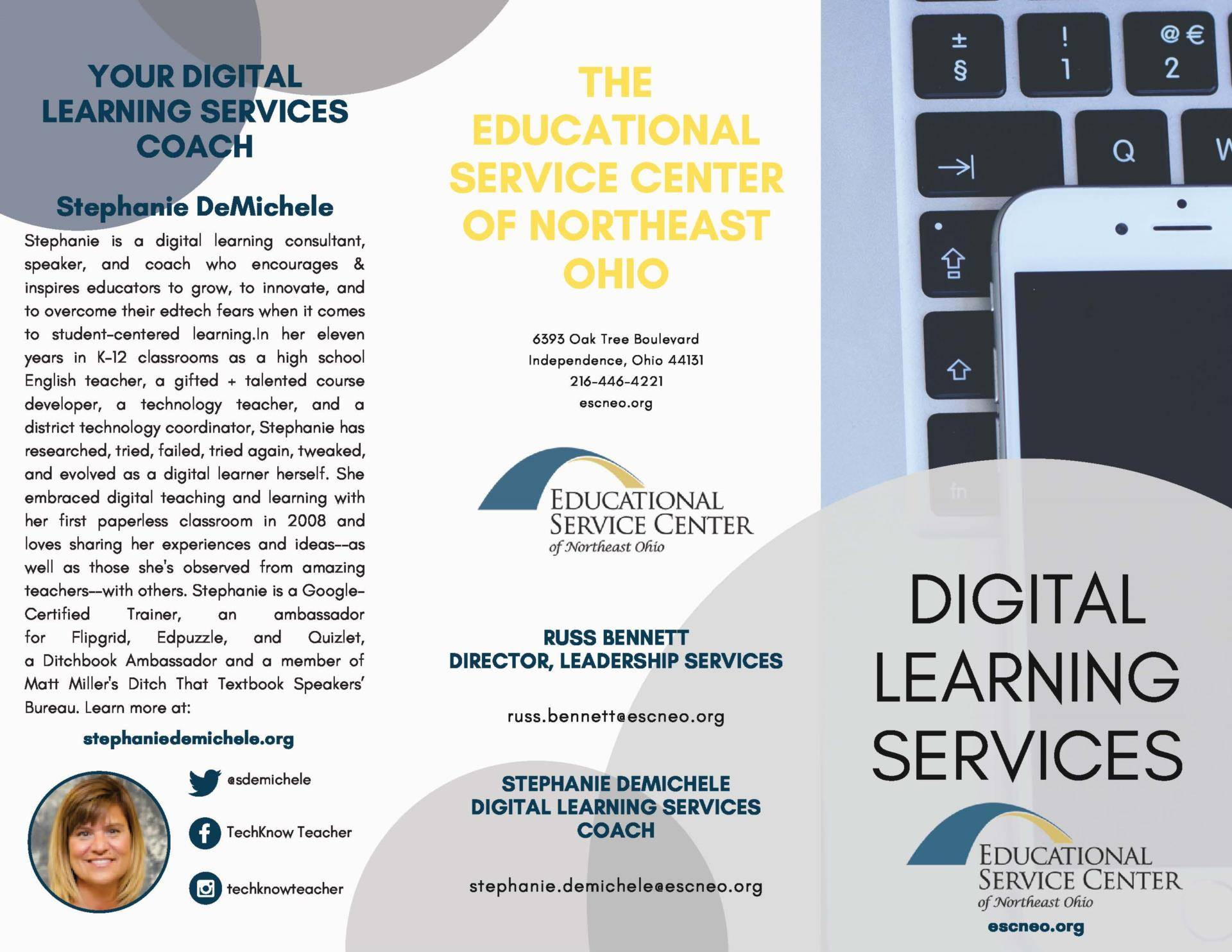 Digital Learning Services Page 1