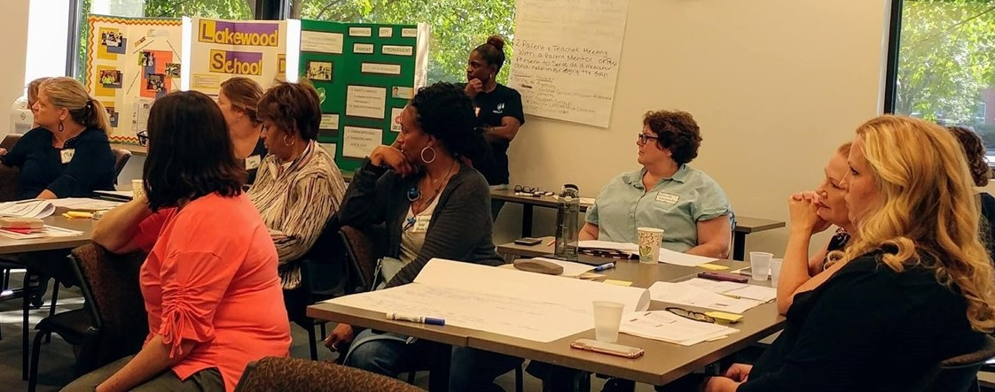 Family Reps, Parent Mentors and District Reps work together to develop Family Engagement Action Plans