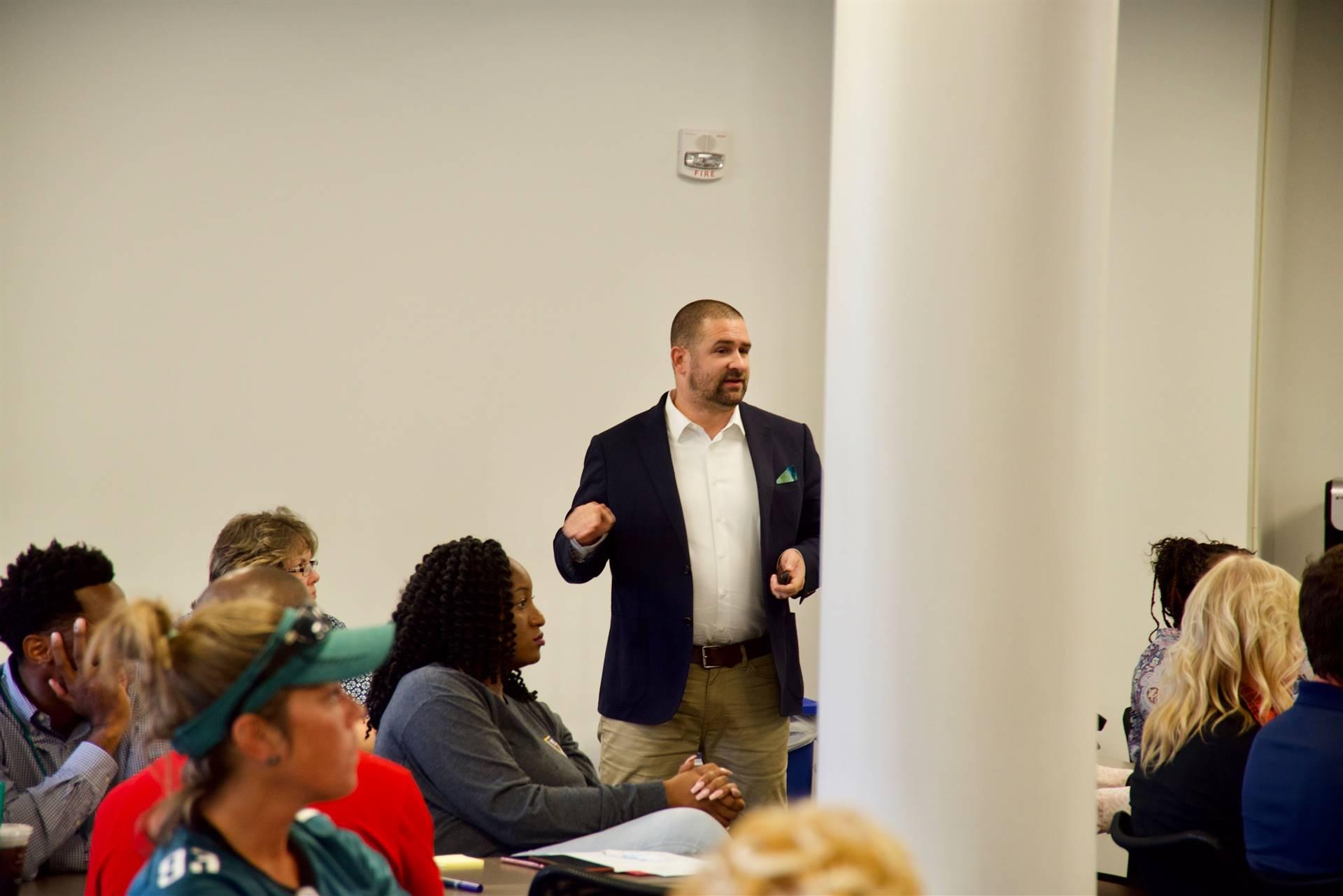 Chris O'Brien talks about effective Coaching
