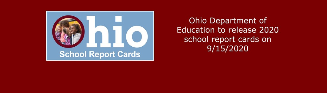 Image and link to ODE report card information