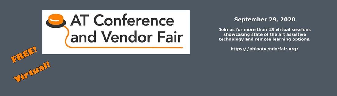 Image of the assistive technology vendor fair