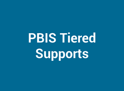 PBIS Tiered Supports