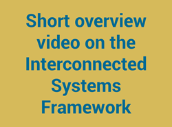 Short overview video on the Interconnected Systems Framework