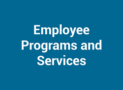 Employee Programs and Services