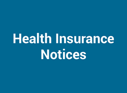 Health Insurance Notices